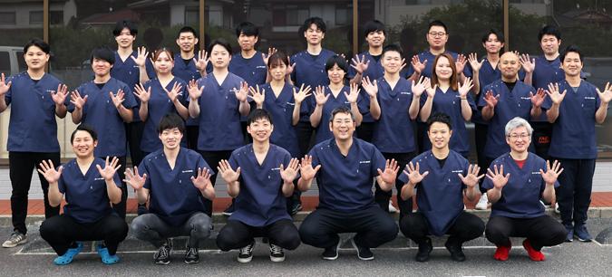 あいあい整骨院では施術者全員が国家資格を持っております。