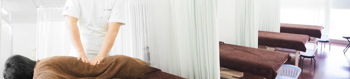 あいあい整骨院津山院は、清潔な空間と設備で施術をおこなっております。
